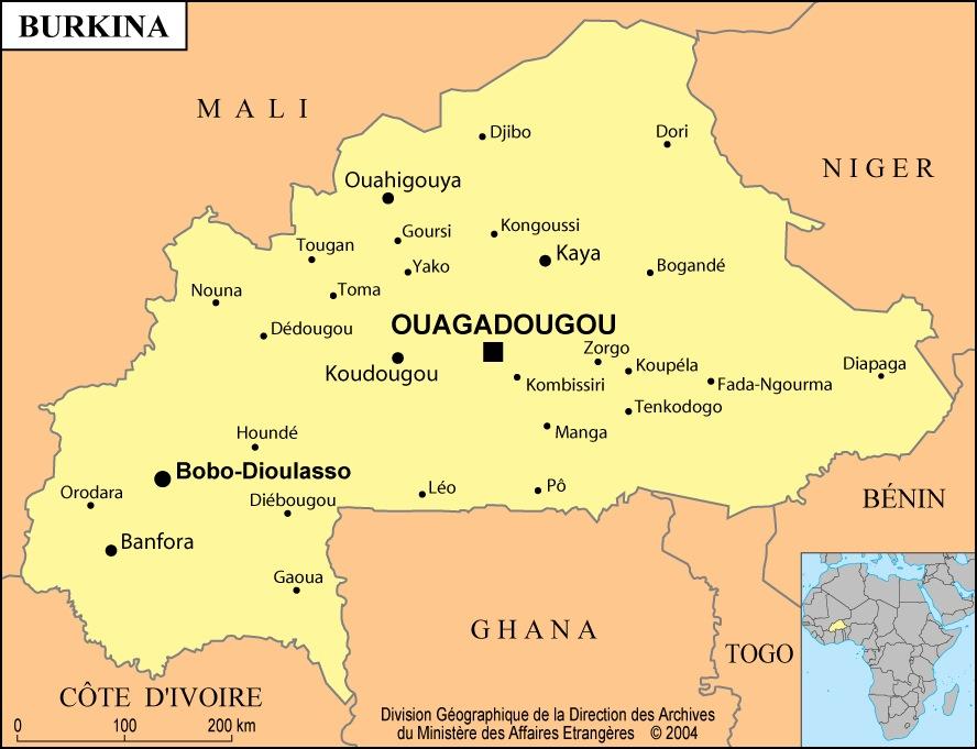 Mission Banfora Burkina Faso octobre 2012