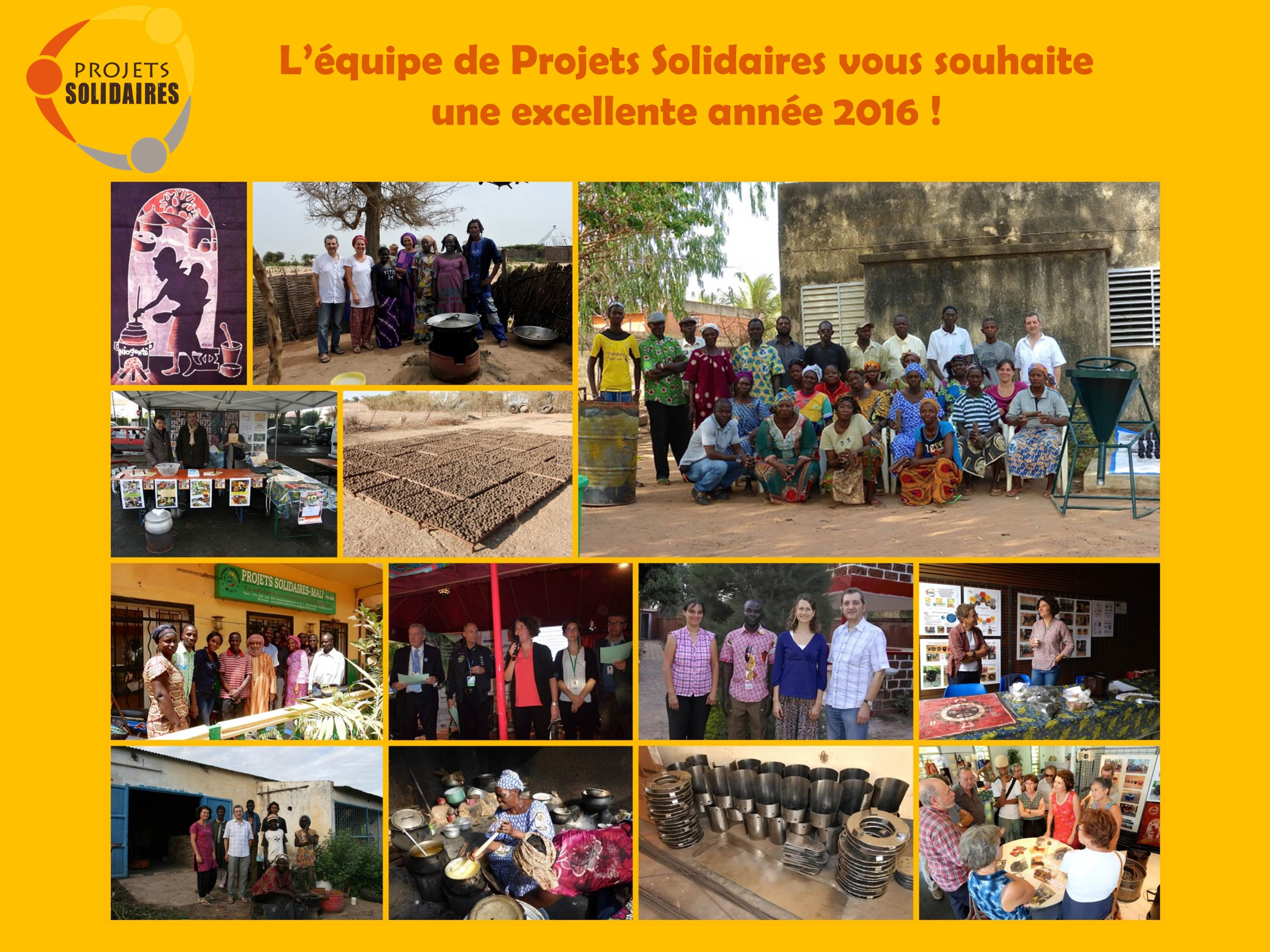 Voeux Projets Solidaires 2016